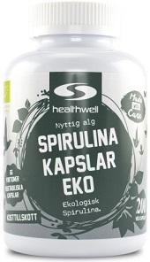 Spirulina tabletter från healthwell